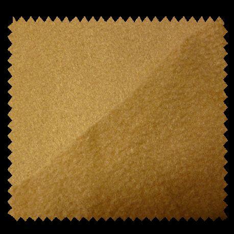 Tissu Polaire Uni Ocre