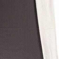 Tissu Mouton Gris Moyen