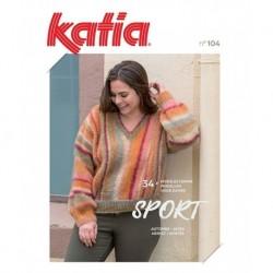 Catalogue Katia N°104 Automne/hiver 2020/21 Sport