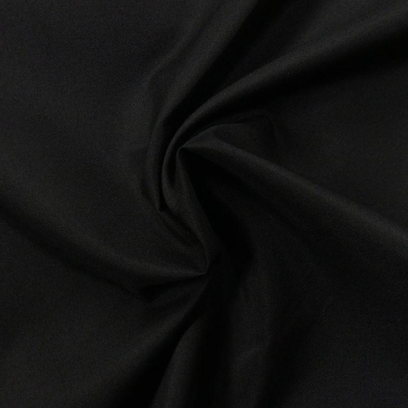 Tissu Pul Uni Noir