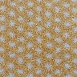 Tissu Futon Cretonne Jaune
