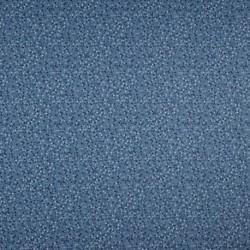 Tissu Coton Imprimé Pois Bleu