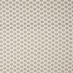 Tissu Coton Imprimé Parapluie Ecru noir