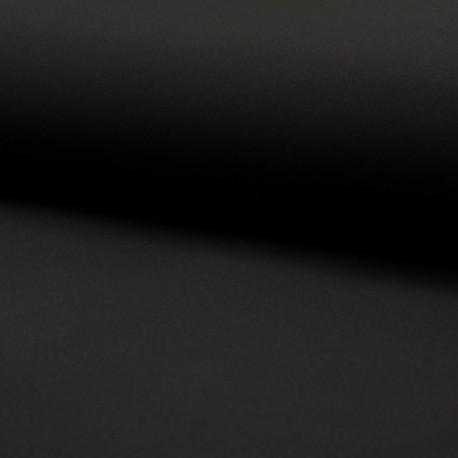 Tissu Soft Shell Uni Noir