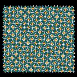 Tissu Imprimé Perle Cactus