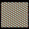 Rideau A Oeillets Voile Rayé - 2 Coloris