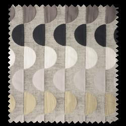 Tissu Jacquard Moon Gris