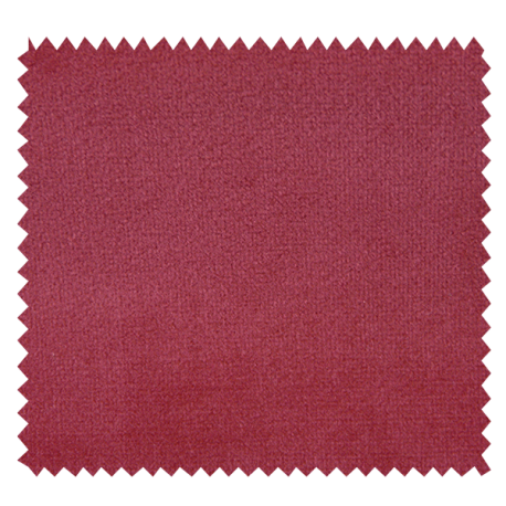 Tissu Velours Uni Tornado Rouge