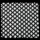 Tissu Jacquard All over Austin Noir Blanc