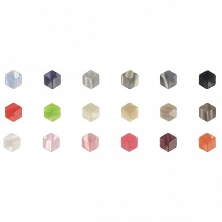 Bouton hexagone