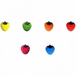 Bouton enfant fraise