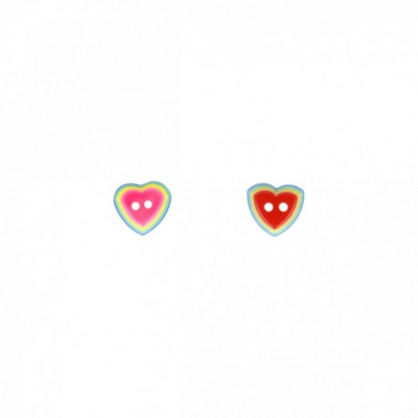 Bouton coeur 3D