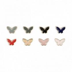 Bouton bijou papillon