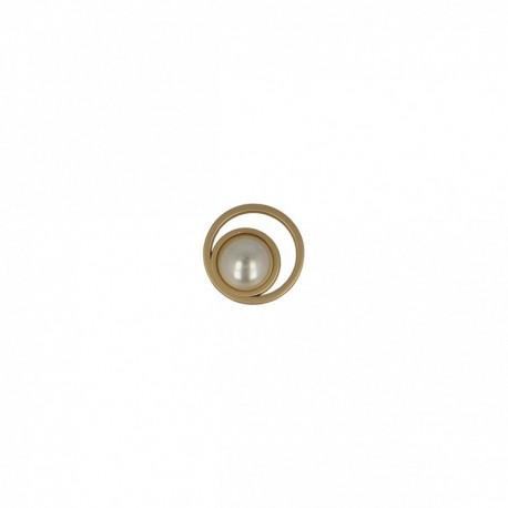 Bouton avec perle