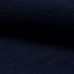 Tissu Eponge Uni Marine