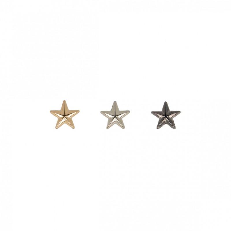 Bouton bijou étoile