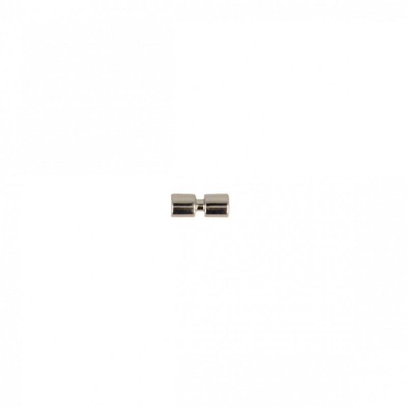 Bouton mini buche métal