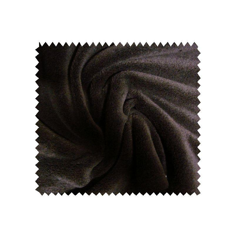 Tissu Microfibre Panda Uni Choco
