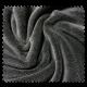 Tissu Microfibre Panda Uni Fumé