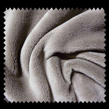 Tissu Microfibre Panda Uni Beige