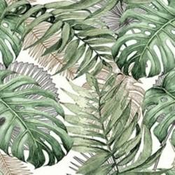 Tissu Sumatra 2 Digital Vert