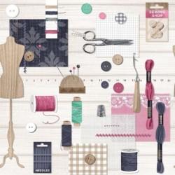 Tissu Couture 1 Digital Multico