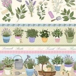 Tissu Garden 1 Digital Multico