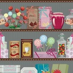 Tissu Sugar 2 Digital Multico