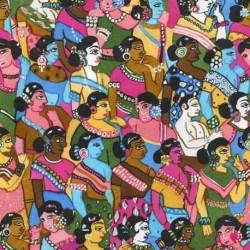 Tissu India 1 Digital Multico