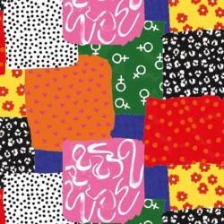 Tissu Girly 4 Digital Multico