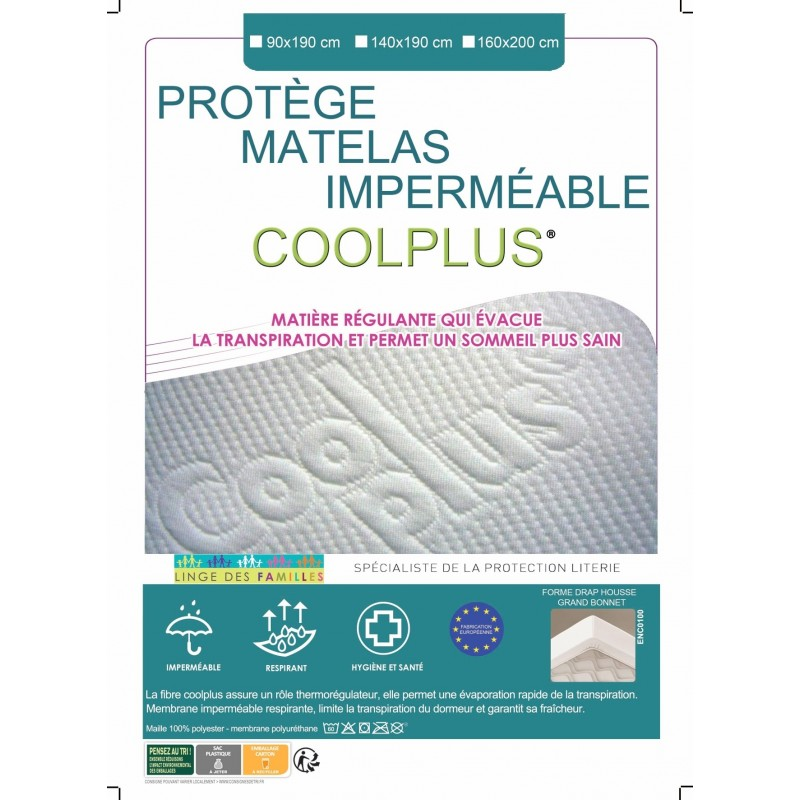 Drap Housse Coolplus Impermeable