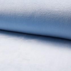 Tissu Polaire Microfibre Panda Uni Bleu Clair