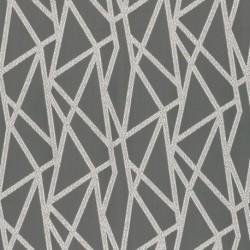 Tissu Geomo Jacquard gris