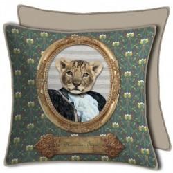 Housse de Coussin Portrait Multico Mr Tigre 50x50 cm