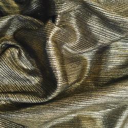 Tissu Jersey Foil Or