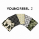 Un Lot de 5 Coupons Young Rebel Multico 45x55 cm