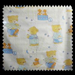 Tissu Coton Imprimé Jessy Bleu