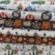 Tissu Inuk Imprimé Père Noël