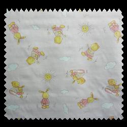 Tissu Coton Imprimé Yani Rose