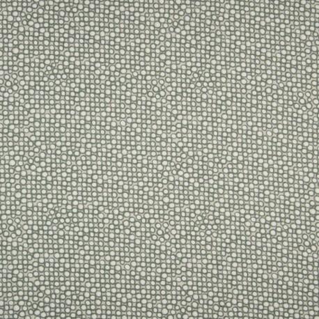 Tissu Coton Imprimé Bio Cercle Vert