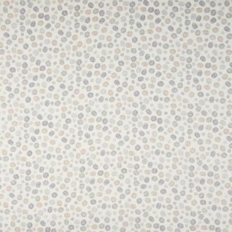 Tissu Coton Imprimé Bio Pois Vert