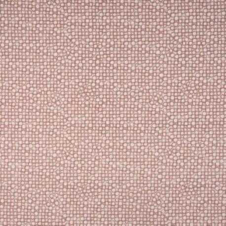 Tissu Coton Imprimé Bio Cercle Vieux Rose