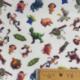 Tissu Popeline Toy Story Imprimé Blanc