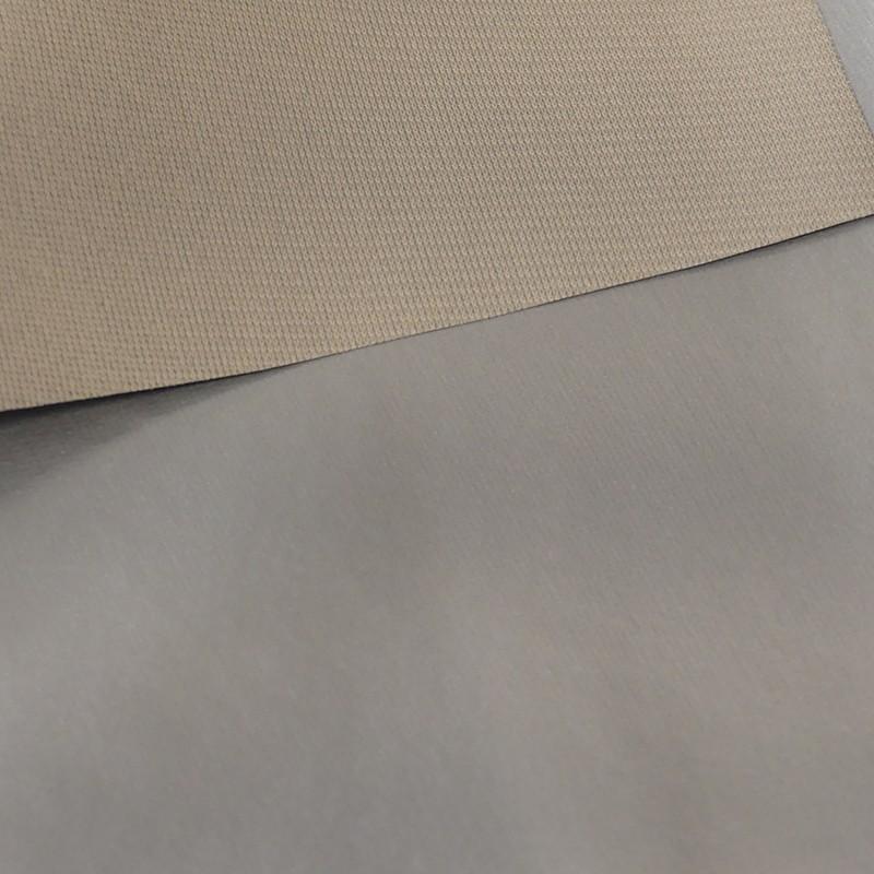 Tissu Occultant Non Feu Noir Acoustique Thermique Beige