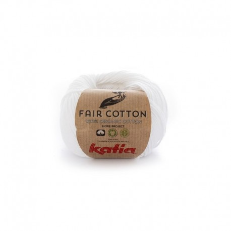 Pelote de laine Katia Fair Cotton