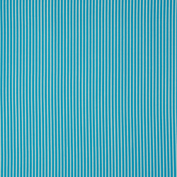 Tissu Rayé Turquoise