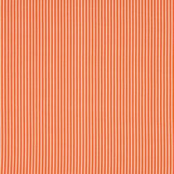 Tissu Rayé Orange