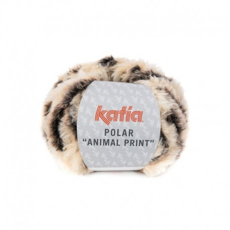 Pelote de Laine Katia Polar Animal