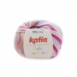 Pelote de Laine Katia Baby Jacquard - 6 coloris