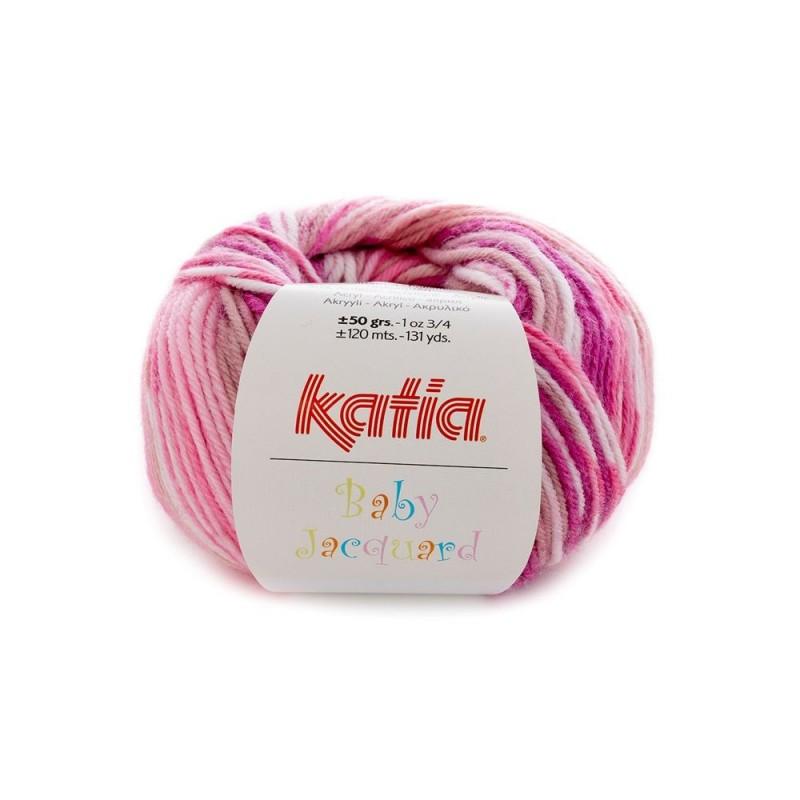 Pelote de Laine Katia Baby Jacquard